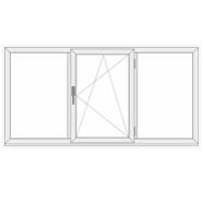 3 Panels, 1 Operable