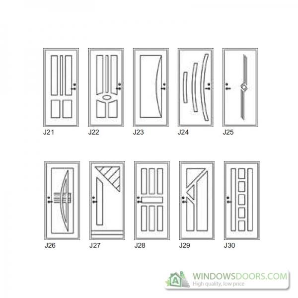 Security Door Patterns Prices Calculator