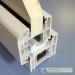 Economy budget profile 70 mm white for uPVC windows