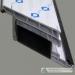 uPVC door profiles steel reinforcement closed type
