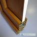 uPVC front doors golden oak profile