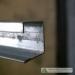 uPVC windows and doors reinforcement steel single lip channel
